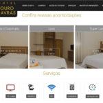 Criação website Hotel Ouro Lavras - Site compatível com celular, tablet e computador